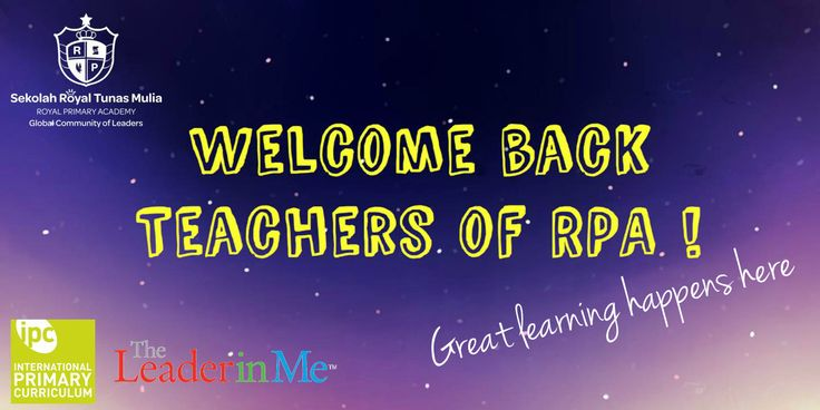 Welcome back teachers of RPA and  warm welcome to the new teachers :) We are so excited to experience the great learning together with you all! ‪#‎royalprimaryacademy‬ ‪#‎kuninganplace‬ ‪#‎sekolahdasarjakartaselatan‬ ‪#‎sekolahdasar‬ ‪#‎primaryschoolsouthjakarta‬ ‪#‎primaryschool‬ ‪#‎theleaderinme‬ ‪#‎internationalprimarycurriculum‬ ‪#‎greatlearning‬ ‪#‎greatteaching‬ ‪#‎greatfun‬