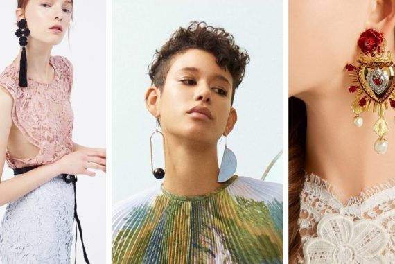 Supersize Your Earrings This Season – aninspo