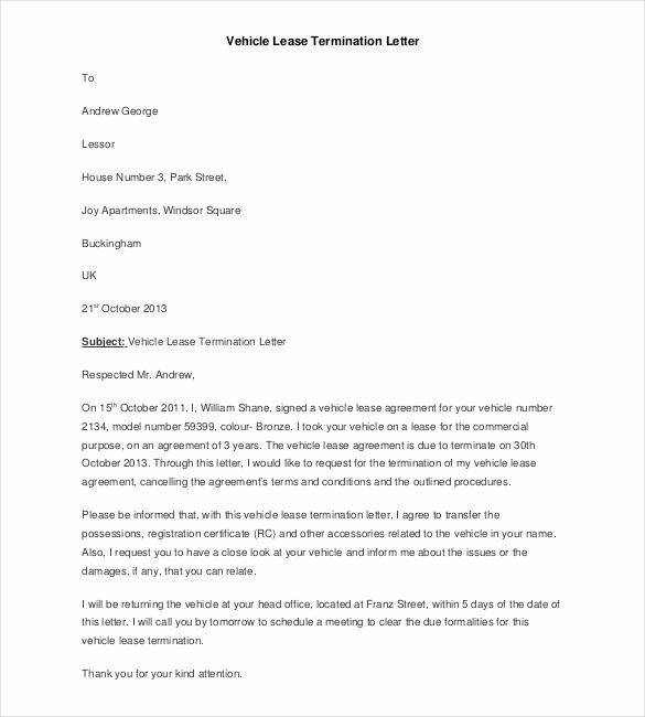 Letter To Cancel Lease Inspirational Sample Apartment Lease Termination Letter Nice Apartement Letter Example Agreement Letter Lettering