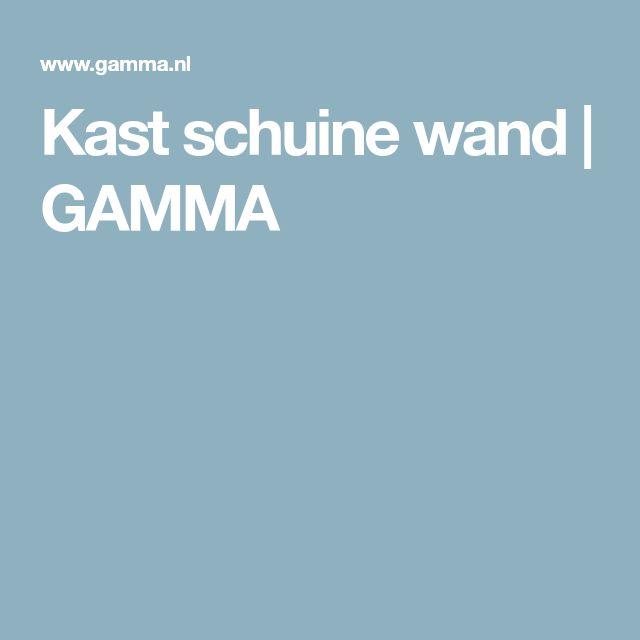Kast schuine wand | GAMMA