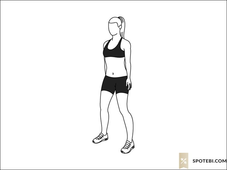 Squat thrust exercise guide with instructions, demonstration, calories burned and muscles worked. Learn proper form, discover all health benefits and choose a workout. http://www.spotebi.com/exercise-guide/squat-thrust/
