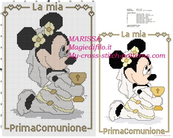 Top 21 best Schemi punto croce gratis Disney images on Pinterest  WI39