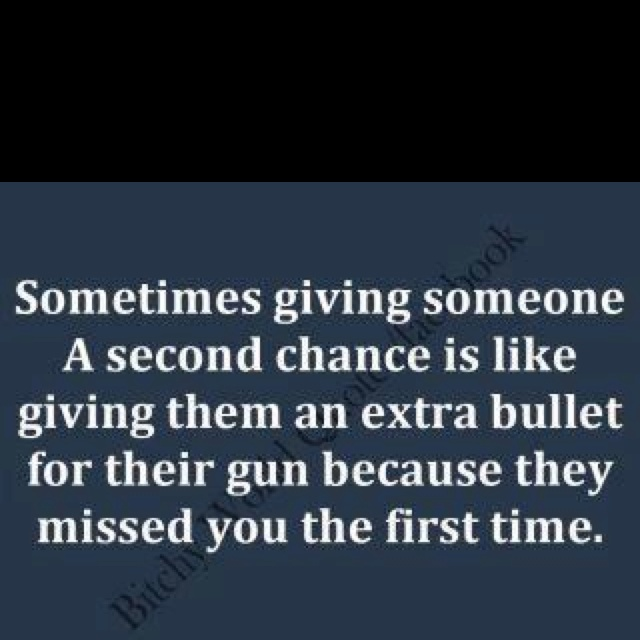 Amen! Sometimes it's just better to walk away.....