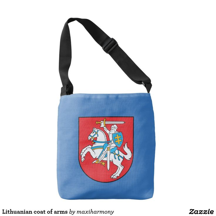 Lithuanian coat of arms tote bag
