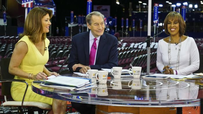 """#CBS THIS #MORNING"" Co-Hosts Condemn Rose Behavior On Air..."
