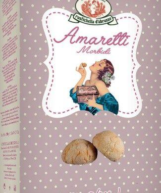 Sotf Amaretto (traditional cookies) / Amaretti morbidi g 250 - 6.30 € inc. VAT / IVA Compresa