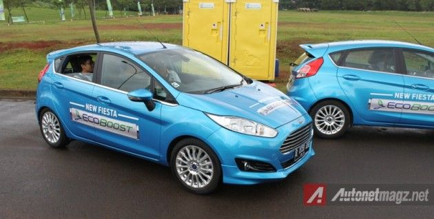 Ford Fiesta Ecoboost test drive