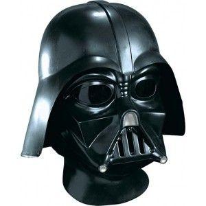 Casque et Masque Dark Vador Star Wars Edition Deluxe adulte et ados +14 ans, casque et masque intégral Dark Vador Deluxe très réaliste moulés par injection sous licence officielle Star Wars Lucas Film