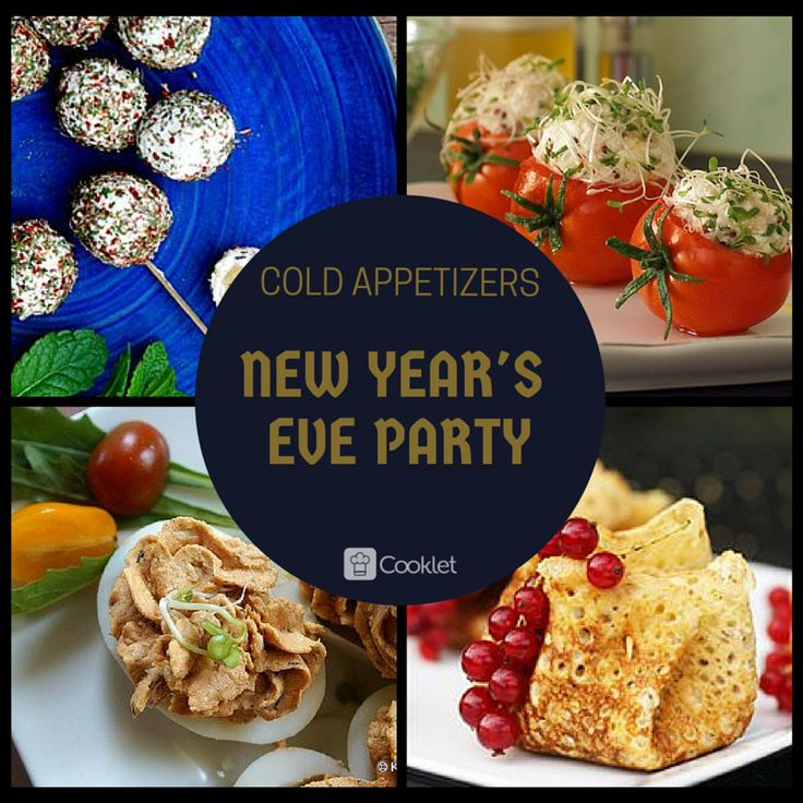 New Year's Eve Snacks: Cold Appetizers