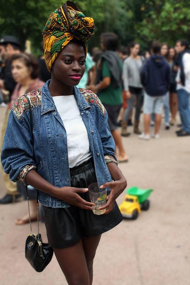 www.cewax.fr aime ce look afropunk, ethno tendance, style ethnique. Dans le même style, visitez la boutique de CéWax : http://cewax.alittlemarket.com/ #Africanfashion, #ethnotendance -