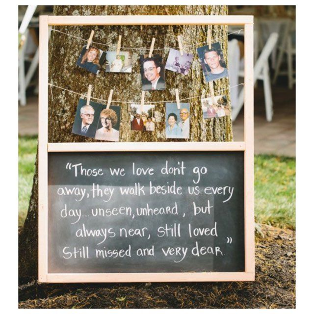 What a heartfelt #diy idea to do at your wedding! Visit https://www.theknot.com/marketplace/aria-wedding-and-banquet-facility-prospect-ct-484157 to read about our wedding services!