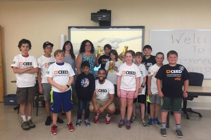 """KENTVILLE, NS - """"Exposure to entrepreneurship at a young age is important because it builds confidence, and encourages problem-solving and creative thinking,"""" says Andrea Jackson, from the Centre for Entrepreneurship Education & Development (CEED)."""