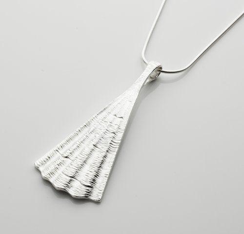 Irish Designer Silver Pendant - Shore Collection