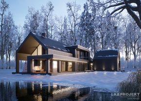 Projekty domów LK Projekt LK&1324 zdjęcie wiodące