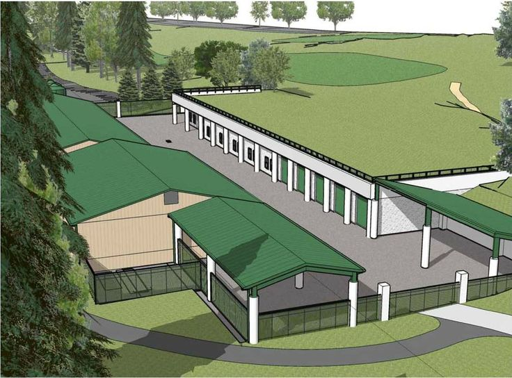 Merion Golf Club S Sustainable Maintenance Facility With A