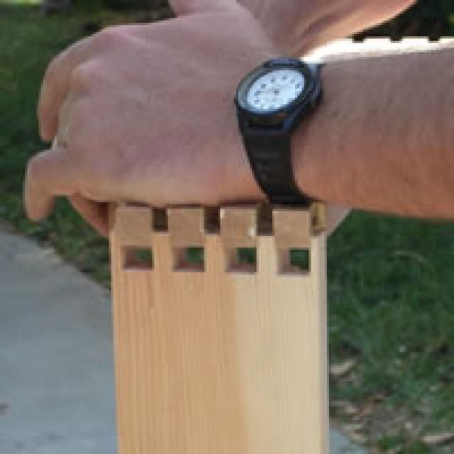13 Methods of Wood Joinery Every Woodworker Should Know: Through Dovetail Joint