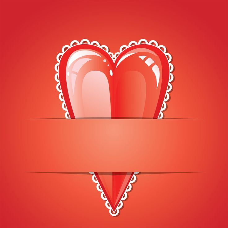 Heart. Red