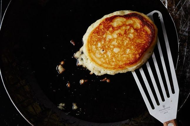 A Genius Trick for Fluffier Buttermilk Pancakes (No Whipping Egg Whites!)   – Breakfast