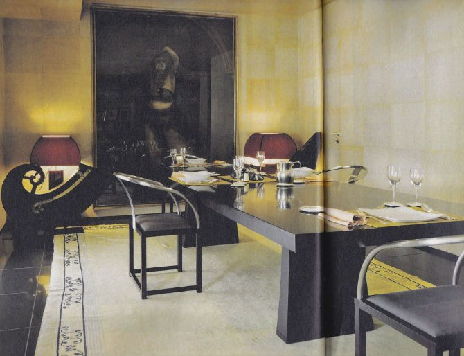 Luxurious Dining Room Sets by Peter Marino #diningroomideas #diningroomfurniture #diningroomchairs dining room design, dining room design ideas, formal dining room | See more at http://diningroomideas.eu/luxurious-dining-room-sets-peter-marino/