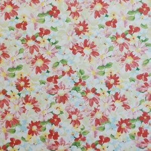 Pot Pourri Chintz 100% cotton 137cm 63cm Curtaining