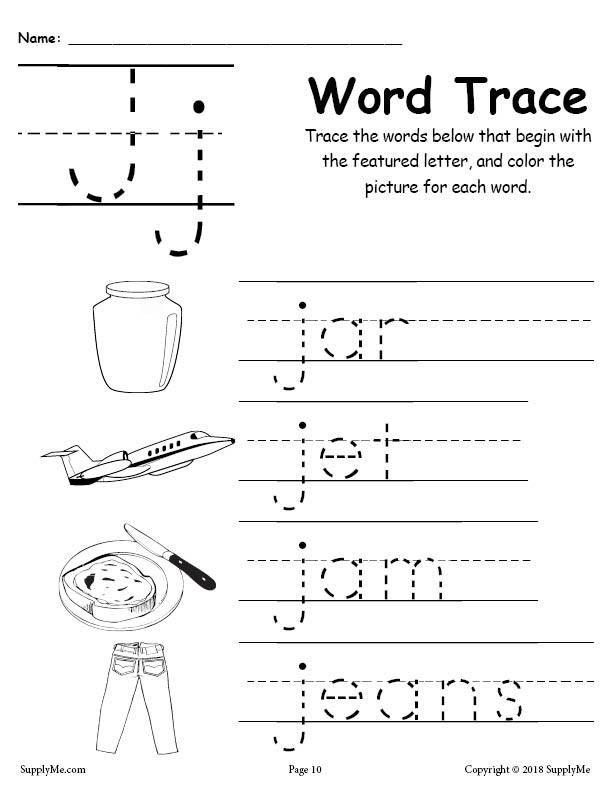 Letter J Tracing Worksheets Poisk V Google Tracing Worksheets Preschool J Words Alphabet Tracing Worksheets Letter j worksheets for preschoolers