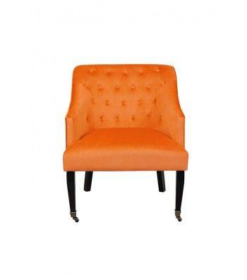 Hollingberry Armchair Orange