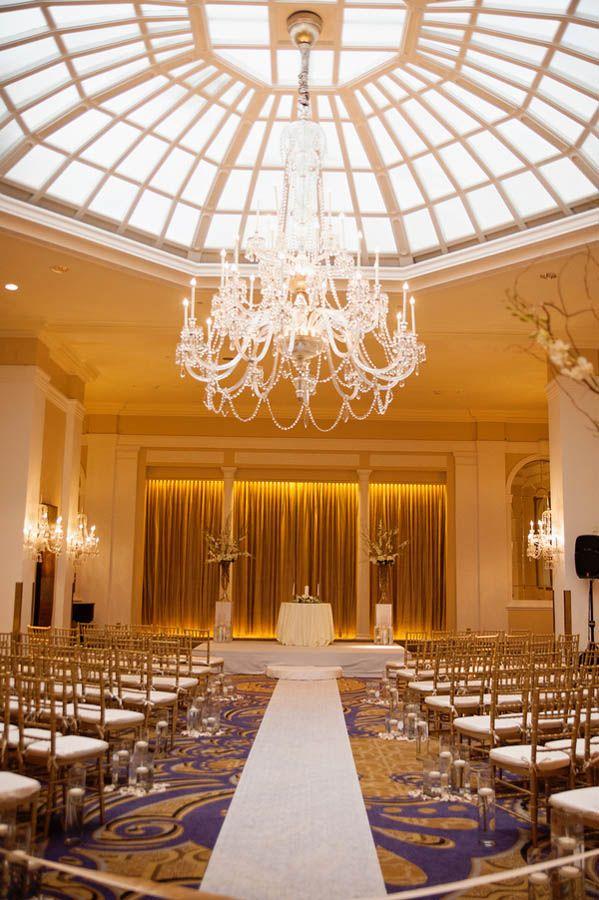 Clic Ballroom Wedding At The Mayflower Renaissance Hotel In Washington Dc More Venues Pinterest And