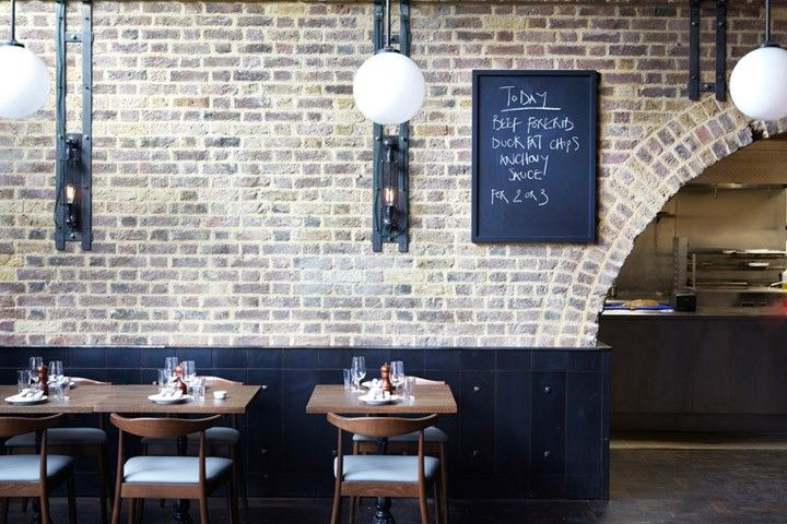 Beagle Restaurant in London, Remodelista  I love everything about this restaurant!