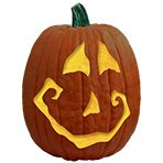 Pumpkin Carving Patterns and Free Pumpkin Carving Patterns and Stencils for your Halloween Jack O Lantern - Toby