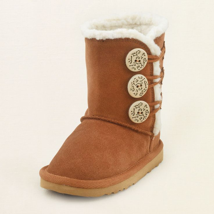 baby girl - shoes - chalet toggle boot   Children's Clothing   Kids Clothes   The Children's Place