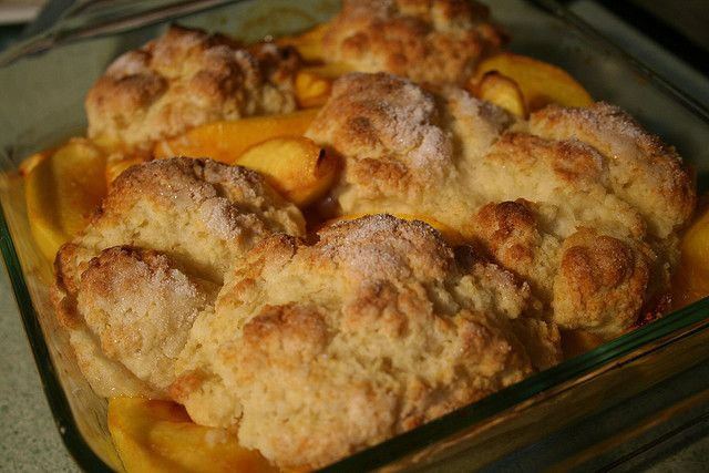 Official Cobbler of Texas: Peach Cobbler. Designated by HCR 102, 83rd R.S. (2013) authored by Rep. Doug Miller and sponsored by Sen. Troy Fraser. [Image by flickr user ImipolexG] Read the resolution at: http://www.legis.state.tx.us/tlodocs/83R/billtext/pdf/HC00102F.pdf#navpanes=0: Hcr 102, Troy Fraser, Official Cobbler, Flickr User, User Imipolexg, Doug Miller, Peach Cobblers, 83Rd R S, Peaches