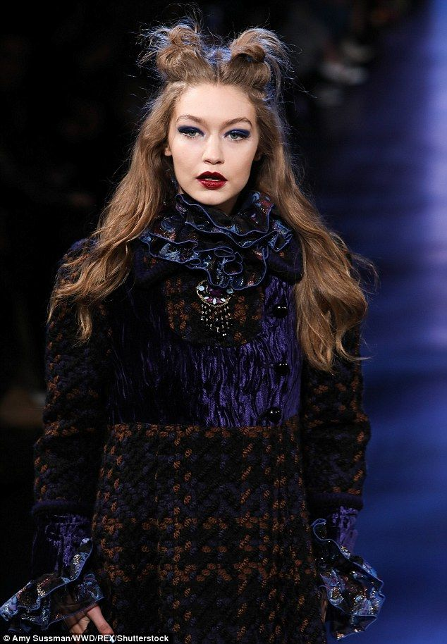 Flawless! The girlfriend of Zayn Malik let her hair down for the show that featured mostly jewel tones and lace