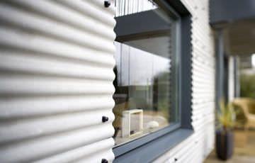 Panneau de toiture en fibro-ciment / ondulé / coloré - PROFILE 3 - Marley Eternit