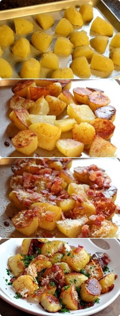 Oven Roasted Potatoes.