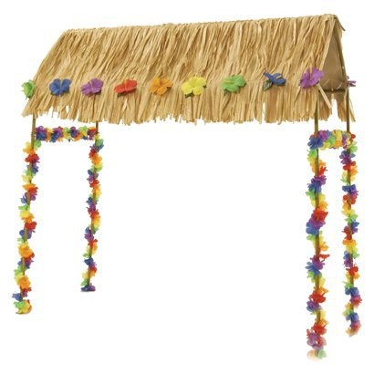 Tabletop tiki hut parties supplies tabletop tiki luau parties hut