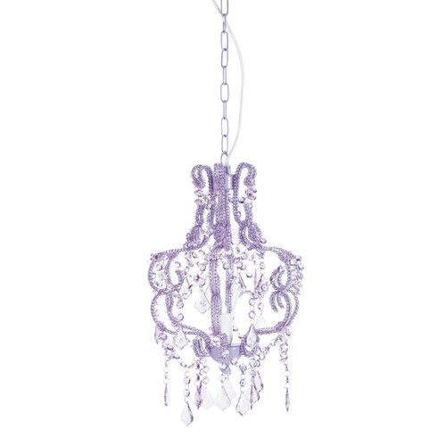 Lampadario viola mammola Principessa