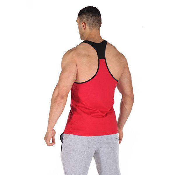 edző, gyúrós trikó, nagy méret, piros