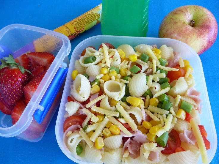 Pasta For Kids Lunch Box Pasta Salad Works Healthy