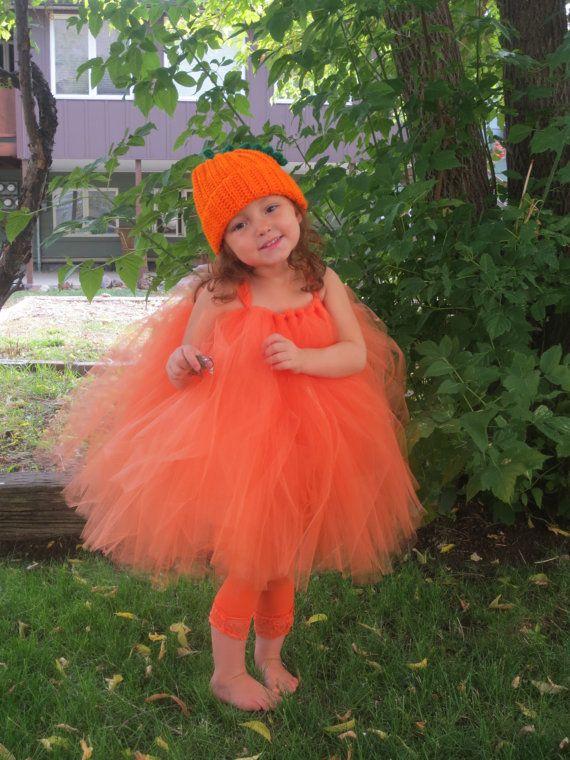 Pumpkin halloween costume Pumpkin hat orange tulle by ... F(x) Krystal