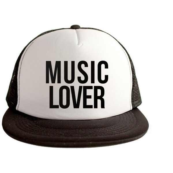 Music Lover Cool Swag Hip Hop Print 80s Style Snapback Hat Cap White... (£12) ❤ liked on Polyvore featuring accessories, hats, black white snapback, snap back cap, print hats, black and white hat and black white hat