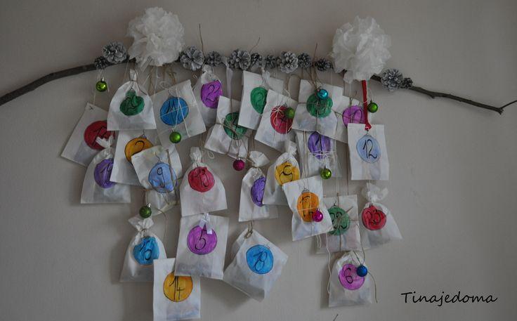 adventný kalendár ... advent calendar ... postup (ktorý je velmi jednoduchý najdete blogu www.tinajedoma.blogerka.cz ) :)