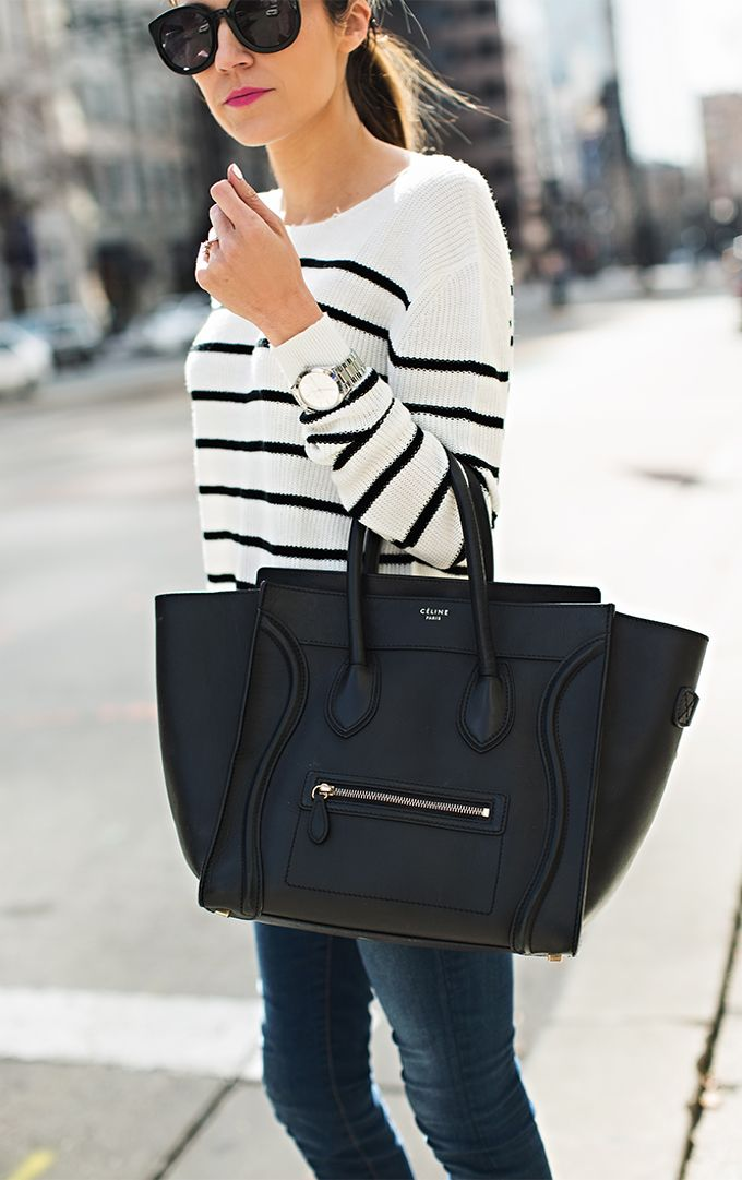 This Celine bag is gorgeous. I want one in every color starting with black $310 60% on sale at http://www.outlet-celine.com/