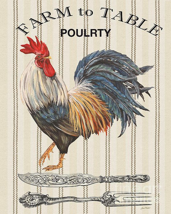 Farm To Table-jp2109 Poster By Jean Plout