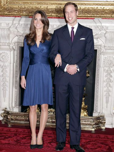 Most Iconic Dresses of All Time - Kate Middleton, engagement announcement to Prince William, 2010