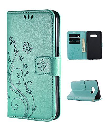 Samsung S8 Case,Galaxy S8 Wallet Case, FLYEE Flip Case Wallet Leather [kickstand] Emboss Butterfly Flower Folio Magnetic Protective Cover with Card Slot (Samsung Galaxy s8 Flower-Mint)  http://topcellulardeals.com/product/samsung-s8-casegalaxy-s8-wallet-case-flyee-flip-case-wallet-leather-kickstand-emboss-butterfly-flower-folio-magnetic-protective-cover-with-card-slot/?attribute_pa_color=samsung-galaxy-s8-flower-mint  Samsung Galazy s8 case,Made of high quality with the premi