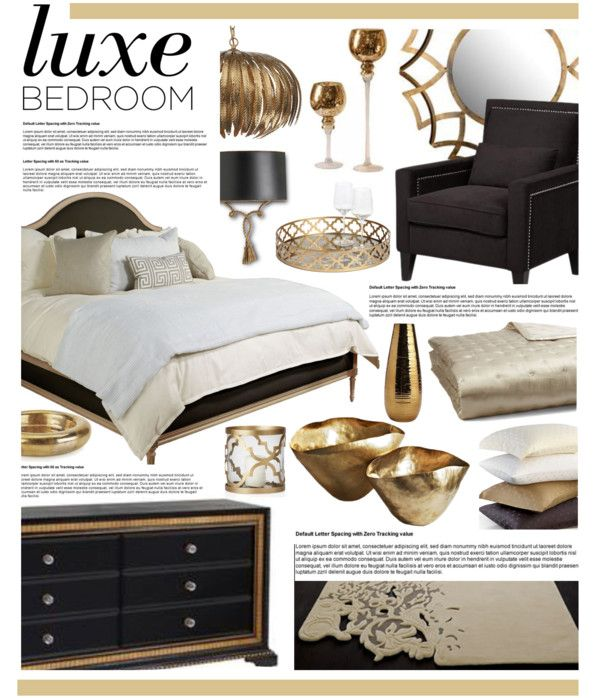 """Luxe Bedroom Decor"" by hmb213 on Polyvore"