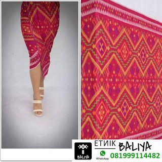 Kain Tenun Bali Terbaru warna Pink | Whatsapp/Hp : 081999114482 - tenun songket bali