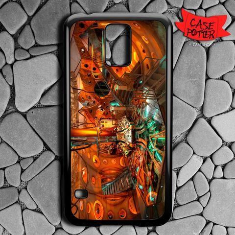 Lab Doctor Who Matt Smith Samsung Galaxy S5 Black Case