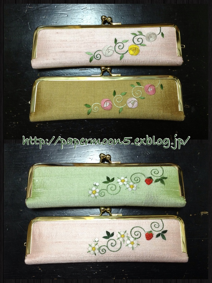 pencase ー Japanese embroidery