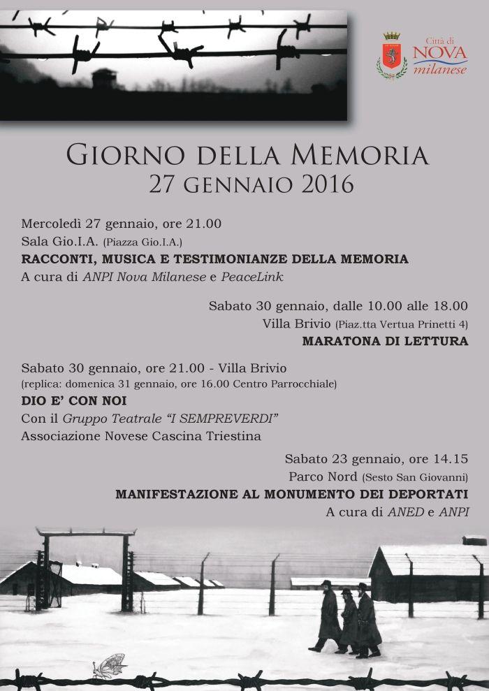 Giorno della Memoria 2016